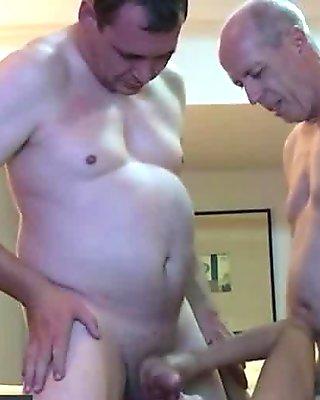 Fresh Thai Brunette Fully Enjoyed By Two Old Guys