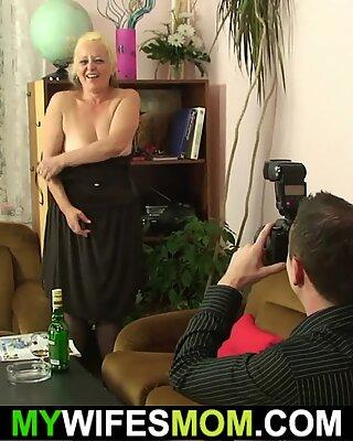Ηλικιωμένη μούμια inlaw ταμπού φωτογράφηση