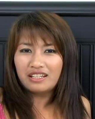 Freaky tailandesas amador senhora é fodida com muita força