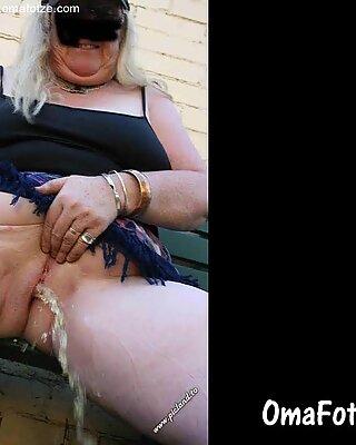 Omafotze păroasă amator bunicuță pasarici closeups