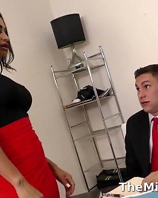 Milf boss fucked her employee