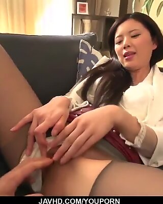 Perfect hardcore with office babe Risa Shimizu - More at javhd.net