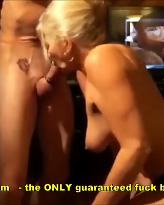 granny Gives Very strong oral pleasure