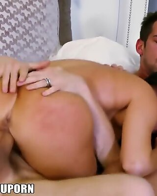 Vanilla Devile gets double teamed by her husband and his friend