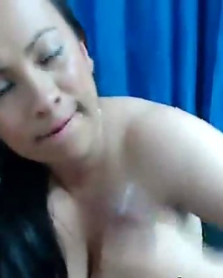 HOT Busty Latina Amazing POV Live Sex On Cam