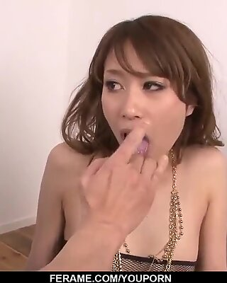 Sexual experience in three for Rika Aiba - More at javhd.net