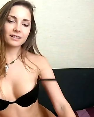 Real cutie finally takes down her tight clothes