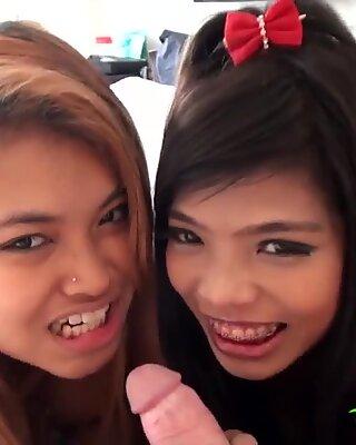 Tuktukpatrol dripping kermapiirakka kolmen kimppa with aasialainen beibit