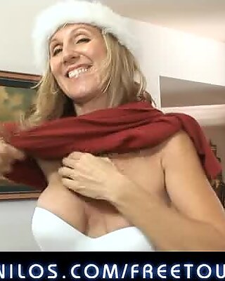 This milf has been naughty this christmas