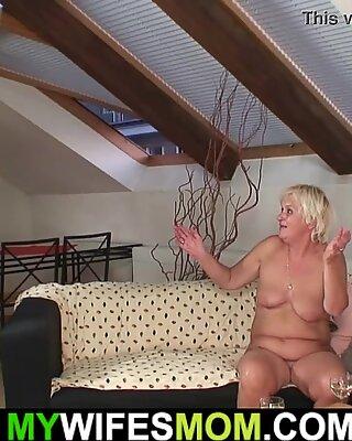 Το Wifes Old Mother είναι πιζερμένο και θέλετε να fuck!