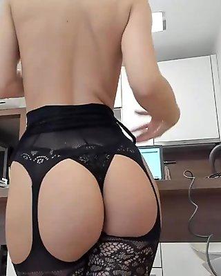 Big ass big tits holy bitch on live cam