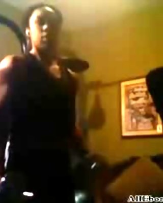 Sexy Fbb Muscle Babe  Working Out - Ameman black ebony cumshots ebony swallow interracial african ghetto bbc